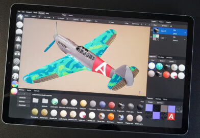 Open Source 3D Texture Paint App ArmorPaint 0.8 Released- Ported to iOS