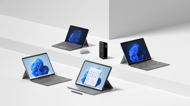 Microsoft announces 5 surface products from surface pro 8 to surface duo